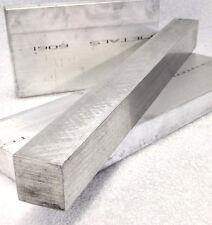 """1/2"""" X 1/2"""" X 12"""" 6061 T6511 ALUMINUM SOLID FLAT BAR Mill Stock Plate .500"""