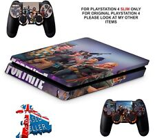 FORTNITE PS4 SLIM**TEXTURED VINYL ! **PROTECTIVE SKINS DECALS WRAP STICKERS