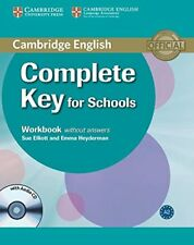 Complete Key for Schools Workbook without Answers with Audio CD, Heyderman, Emma