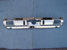 1971 OLDSMOBILE CUTLASS REAR BUMPER TRIPLE CHROME SHOW QUALITY