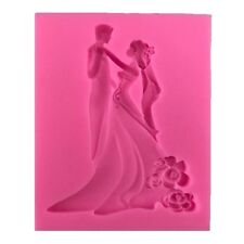 Silicone Couple Molds Chocolate Cake Mold Decorating Fondant Cookie Baking Mould