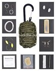 Paracord Grenade Survival Kit Emergency- Bug-Out-Bags- Hiking  Camping Hunting
