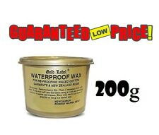 Gold Label Waterproof Wax Clothing Care for Re-proofing Waxed Cotton 200g & 400g 400