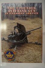 WW2 Canadian Service 2 Pounder Anti Tank Gun Artillery Reference Book