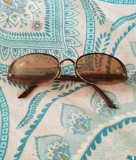 1efb78c6ff PRADA Prescription Reading Brown Oval Round Sunglasses Glasses Frames C12