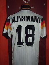 KLINSMANN GERMANY EURO1992 MAGLIA SHIRT CALCIO FOOTBALL MAILLOT JERSEY CAMISETA
