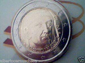 2 euro 2013 fdc ITALIA 700 Giovanni BOCCACCIO italie italy italien Италия Włochy