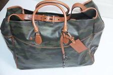 Ralph Lauren Polo Camo Nylon  Leather Big Tote Bag