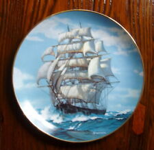 The Twilight Under Full Sail by Charles Vickery Collector Plate – W.S. George