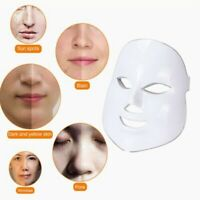 7 Color Photon LED Therapy Face Mask Facial Skin Rejuvenation Anti-aging Wrinkle