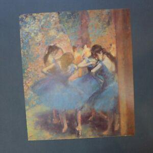 Edgar Degas,Kunstdruck Großformat,1960  er Jahre