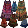 Rayon Ethnic Skirt Indian Boho Gypsy Mandala Jupe Rock Falda Kjol Hippie Retro
