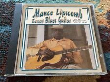 "MANCE LIPSCOMB ""Texas Blues Guitar"" CD 1994 Arhoolie DISC IS MINT Rare"