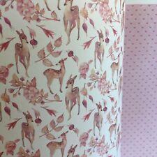 Dolls House Deer Wallpaper Bambi Leaves 1:12