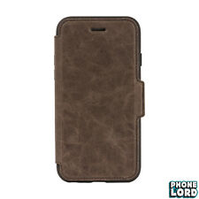 OTTERBOX Strada Rugged Folio Premium Leather Case for iPhone 8 / 7 Espresso