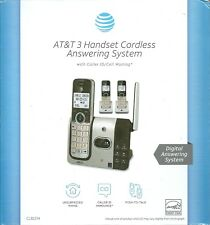 AT&T 3 Handset Cordless Answering System CL82314 BRAND NEW Unopened Box