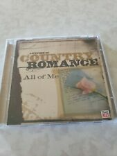 Lifetime Of Country Romance All Of Me. Various Artists. 2 Cds, 30 Songs