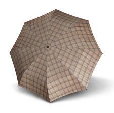 doppler Carbonsteel Long Automatic Regenschirm Accessoire Karo Beige Beige