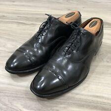 Allen Edmonds FIFTH AVENUE Black Cap Toe Leather Oxford Dress Shoes Mens Sz 9 D