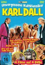 Karl Dall Unvergessene Kultklassiker 4 Filme auf 4 DVD's Unterhaltung Erotik NEU