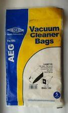 AEG Ultra Silencer AUS4030 5 Pack AUS4040 Vacuum Cleaner Paper Dust Bag