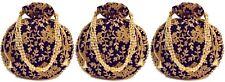 Combo of 3 Women Potli Bag Purse Handbag Wedding Gold Work Embroidered Pearl Bag