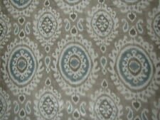 "Manuel Canovas cortina tela diseño ""Madina"" 11 Metros Beige 100% Lino"