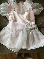 Fancy Pink Dress Size 9-12 Months