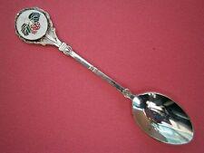 SA47) Vintage enamel strawberry plant souvenir Collectors spoon