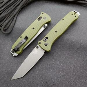 New CNC CPM-3v Blade Nylon Glass Fiber Handle AXIS Lock Folding Knife EDC 537GY