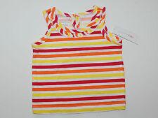 T-Shirt~USA~74-80~Tunika~Sommer~Mädchen~Top~Trägertop~bunt~gestreift~neu~