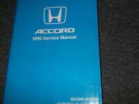 1990 HONDA ACCORD Service Shop Workshop Repair Manual NEW Factory