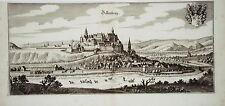 Dillenburg Dill Hessen Nassau seltener echter Merian Kupferstich 1646