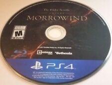 Elder Scrolls Online: Morrowind (Sony PlayStation 4, 2017)(DISC ONLY) #12015