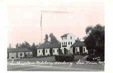 RPPC,San Marino,CA.Southwestern Military Academy,San Gabriel Valley,Collins,1945