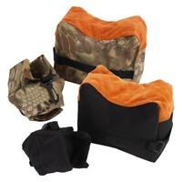 Shooting Range Sand Bag Set Rifle Gun Bench Rest Stand Front Rear Bag Hunting SD