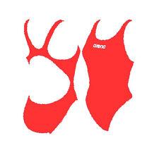 Costume ARENA (SOLID) ex Makinas ROSSO tg.40 ita anticloro nuoto