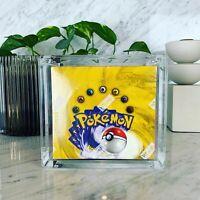Base Set Pokemon Booster Box 36 Packs Sealed Unlimited Genuine English | NM/Mint