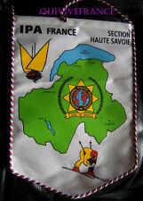 FANION INTERNATIONAL POLICE ASSOCIATION IPA SECTION HAUTE SAVOIE
