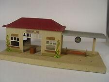 Bahnhof - Blechspielzeug - Kibri #1477 #E - gebraucht