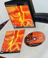 Half-Life (Sony PlayStation 2) Complete w/Registration Card & Tested