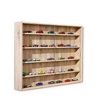 Sammlervitrine KF-Board Sonoma-Eiche laminiert 80 x 9,5 x 60cm