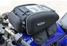 Multi-Function Waterproof Magnetic Motorcycle Tank/Helmet Bag Saddlebags Backbag