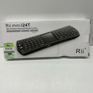 Rii Mini i24TRF wireless keyboard IR Remote Controller for smart TV BOX PC