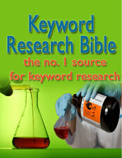 Keyword Research Bible Tips PDF eBook with resale rights!