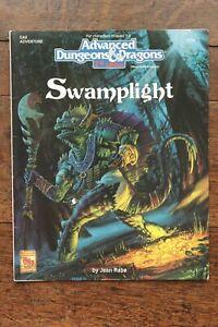 Swamplight AD&D 2nd Edition Module Adventure Dungeon Dragon TSR 9424 GA2 1993 VG