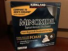 Kirkland Hair Regrowth Treatment 5% Minoxidil Foam for Men - 6 Months Supply <br/> ✔ WORLDWIDE SHIPPING ✔ FRESH - EXPIRY 10/2022