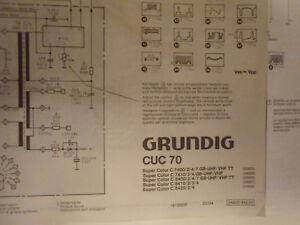 Schaltplan Grundig CUC 70