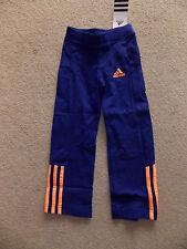 "adidas Kinder Trainigshose blau/orange ""LG ESS KN PANT"" Gr. 110"
