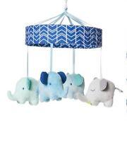 Cloud Island Elephant Mobile - Blue/Gray, Nursery- Ships Free!